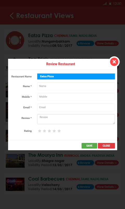 12-Restaurant review